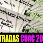 Dónde comprar entradas COAC 2020